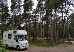 Motorhome Hire Scotland 11