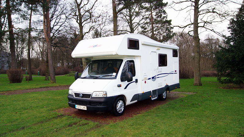 Excellent UK Amp Ireland Motorhome Hire  The Camping And Caravanning Club