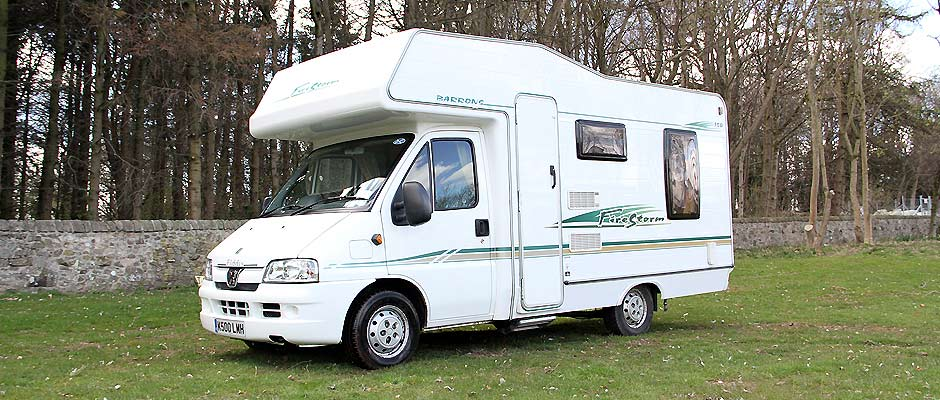 Wonderful Motorhome Hire Type 24 Berth  Campervan Rental Type