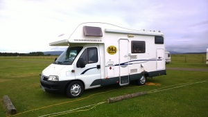 holiday in a motorhome