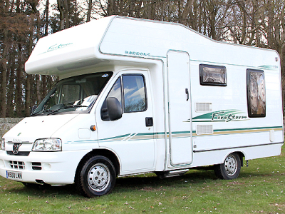 4 berth motorhome Edinburgh
