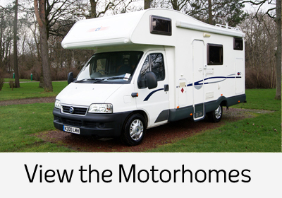 Family motorhome hire Edinburgh