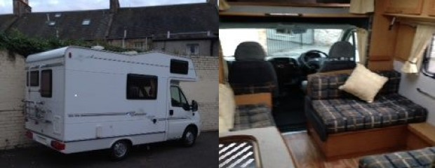 Daisy Motorhome Hire Edinburgh